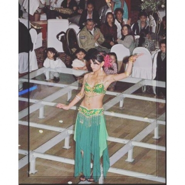 15 years and such a little cutie  tbt bellydance