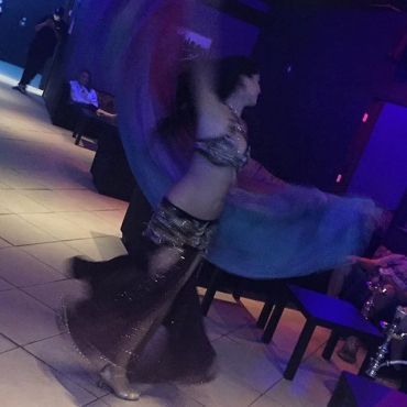 Belly Dancer in the house! bellydance